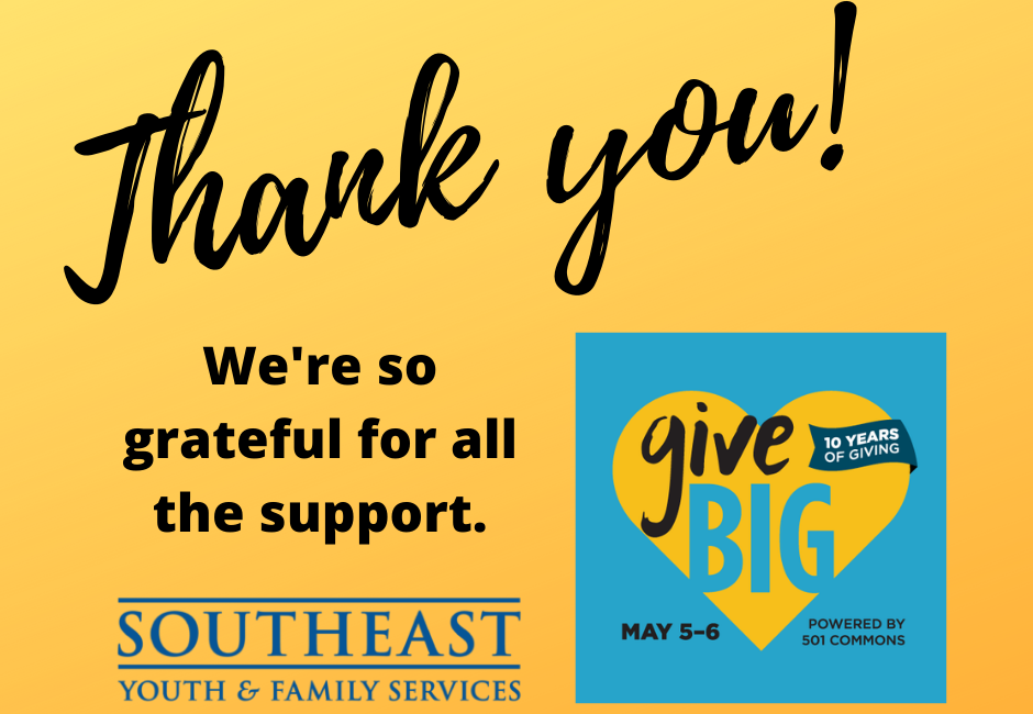 Thank you, GiveBIG supporters