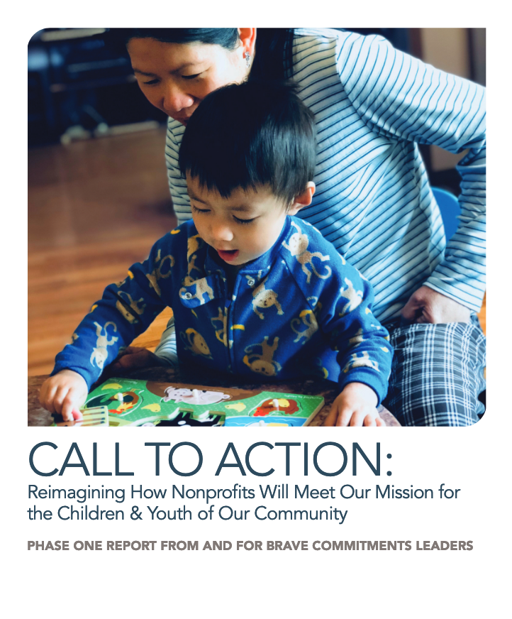 Cover of Call to Action: A Phase One Report from and for Brave Commitments Leaders