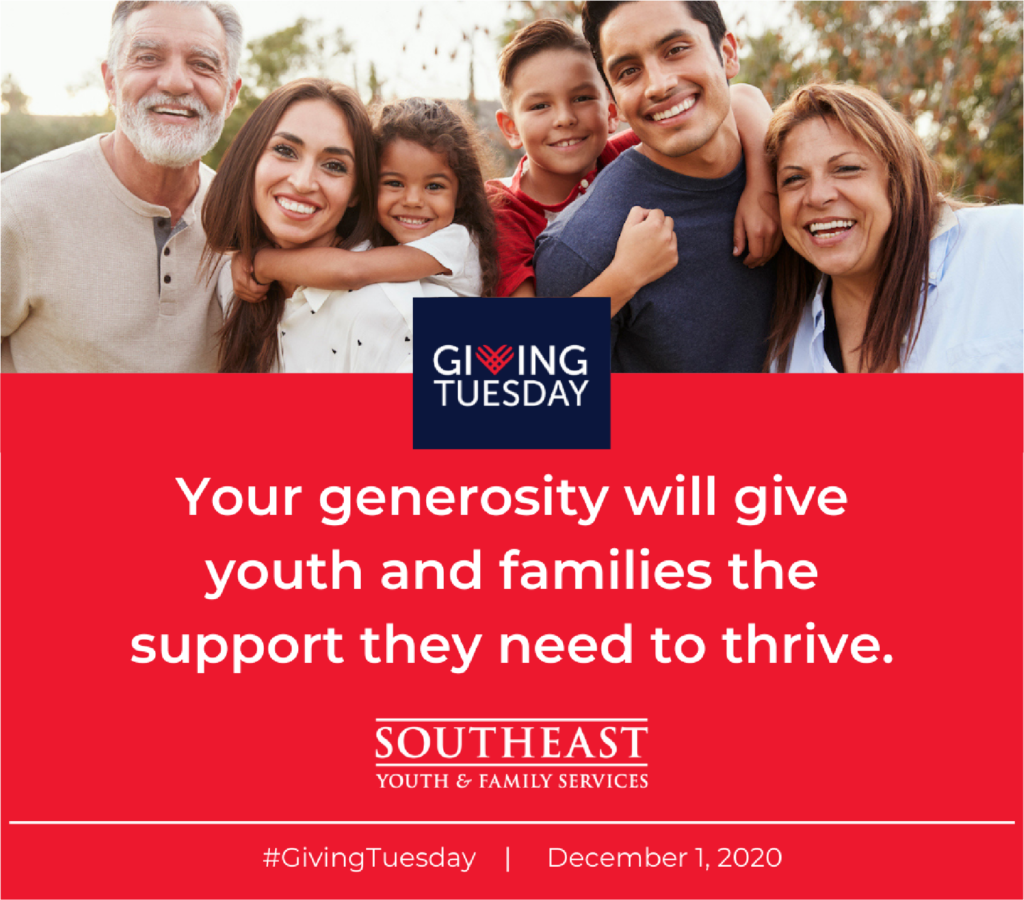 SEYFS Giving Tuesday graphic