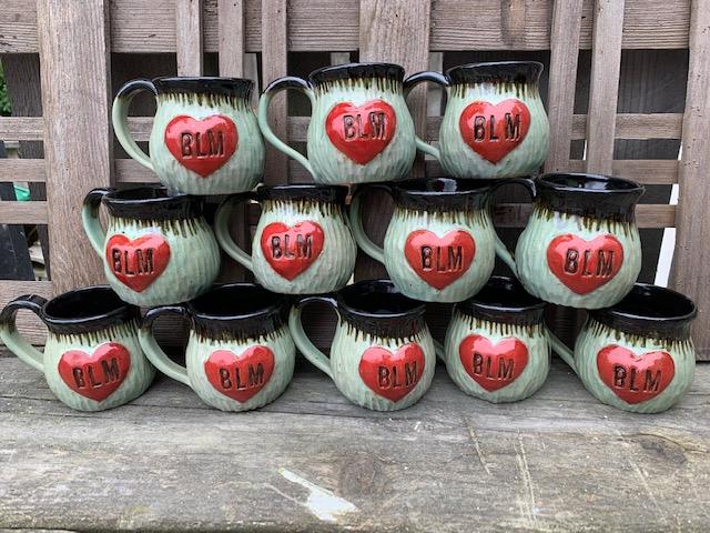 BLM mugs benefiting SEYFS
